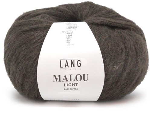 Lang Yarns Malou Light 67 Brown