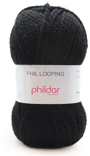 Phildar Phil Looping 1102 Noir