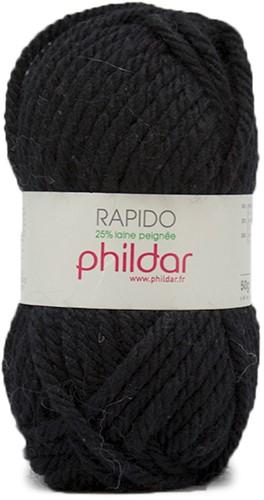 Phildar Rapido 1200 Noir