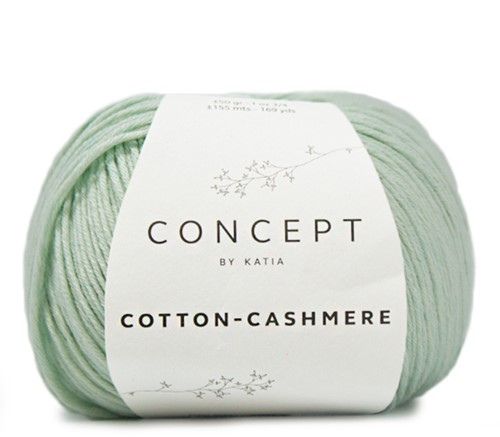 Katia Cotton Cashmere 67 Pastel green