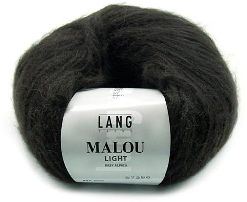 Lang Yarns Malou Light 68 Dark Brown