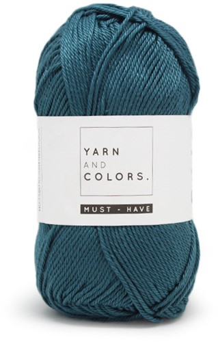 Yarn and Colors Must-have 069 Petrol Blue