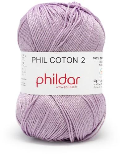 Phildar Phil Coton 2 1445 Lavande