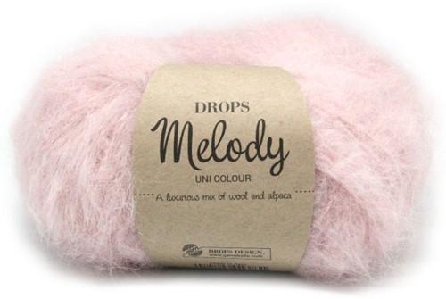 Drops Melody Uni Colour 06 Powder-pink