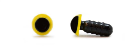 Safety Eyes Yellow 6mm per pair