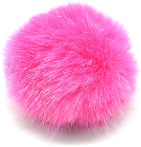 Rico Fake Fur Pompon Medium 7 Pink