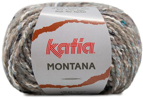 Katia Montana 070 Sky blue-Stone grey