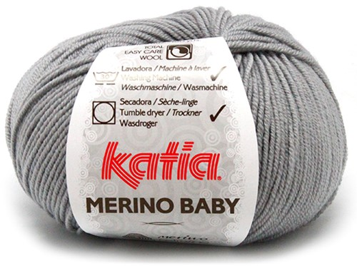 Katia Merino Baby 70 Light grey
