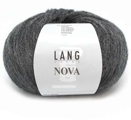 Lang Yarns Nova 70 Anthracite