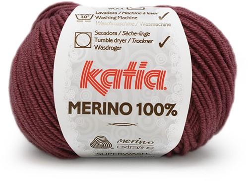 Katia Merino 100% 70 Dark Old Pink