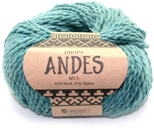 Drops Andes Mix 7130 Sea Green