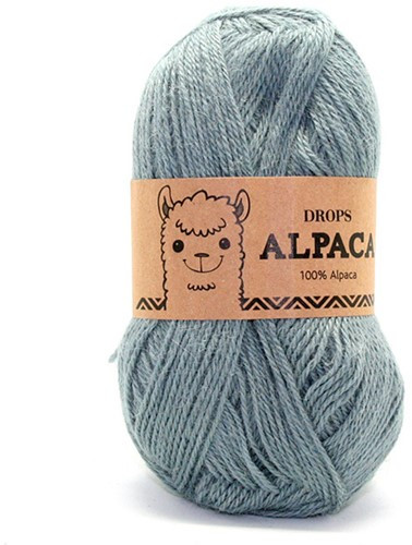 Drops Alpaca Uni Colour 7139 Dark Grey Green