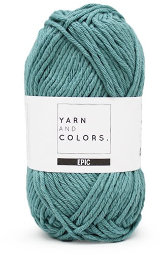 Yarn and Colors Moss and Cross Cushion Knit Kit 4