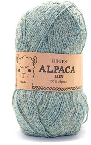Drops Alpaca Mix 7323 Aqua Grey