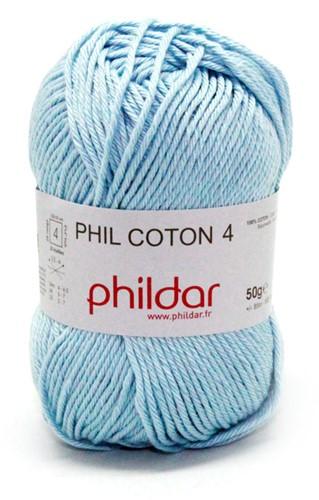 Phildar Phil Coton 4 1015 Azur