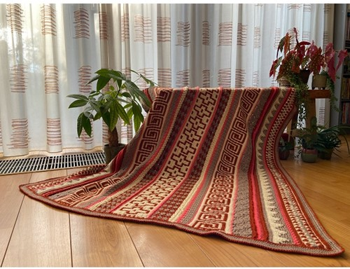 Mosaic Buddy Blanket Crochet Kit