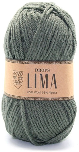 Drops Lima Uni Colour 7810 Moss-green