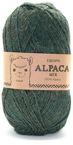 Drops Alpaca Mix 7815 Green/Turquoise