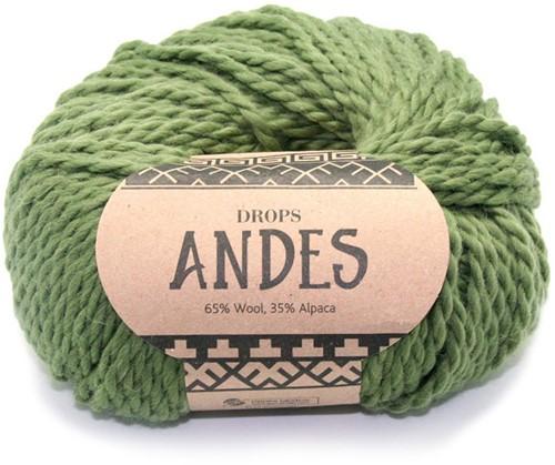 Drops Andes Uni Colour 7820 Green