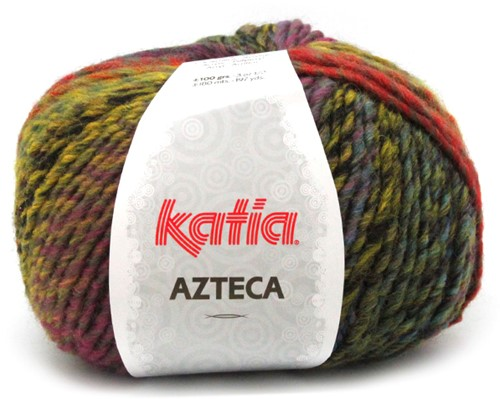 Katia Azteca 854 Black/Lilac/Blue/Orange/Yellow