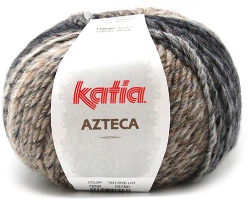 Katia Azteca 856 Brown/Black/Beige/Wine Red