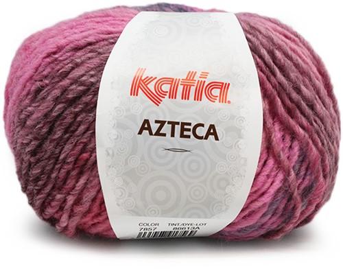 Katia Azteca 857 Pale Red/Grey