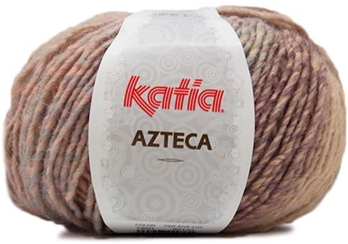 Katia Azteca 860 Brown/Black/Beige/Wine Red