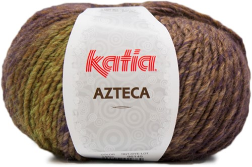 Katia Azteca 862 Brown/Green/Lilac