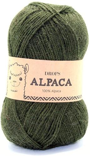 Drops Alpaca Uni Colour 7895 Dark Green