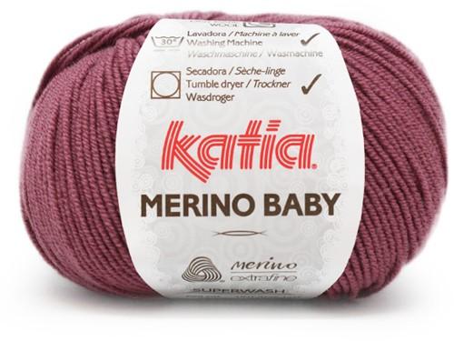 Katia Merino Baby 78 Dark mauve