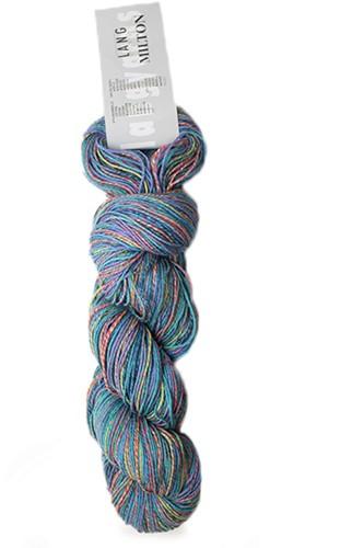 Lang Yarns Milton 79 Turquoise/Dark Green/Rust