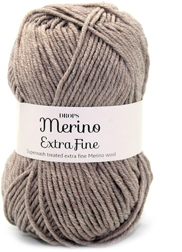 Drops Merino Extra Fine Mix 07 Light Brown