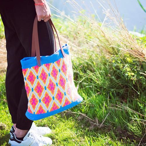 Mochila Bag Crochet Kit