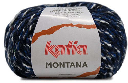 Katia Montana 080 Night blue-Dark blue