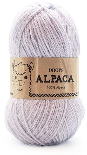 Drops Alpaca Uni Colour 8105 Light Steel Blue