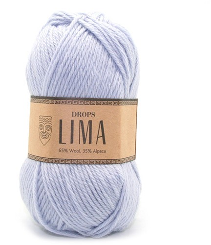 Drops Lima Uni Colour 8112 Ice blue