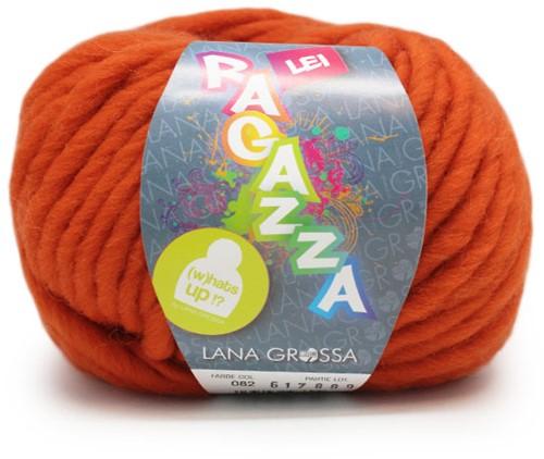 Lana Grossa Ragazza Lei Uni 82 Orange