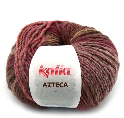 Katia Azteca 838 Light Brown/Pale Red