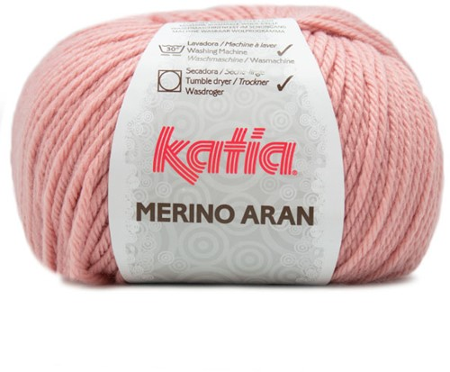 Katia Merino Aran 83 Medium rose