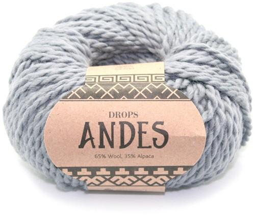 Drops Andes Uni Colour 8465 Medium Grey
