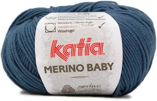 Katia Merino Baby 84 Night blue