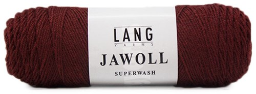 Lang Yarns Jawoll Superwash 84 Bordeaux