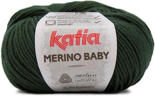 Katia Merino Baby 85 Dark green