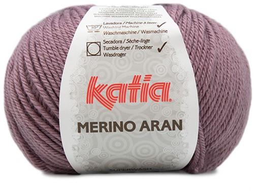 Katia Merino Aran 85 Dark mauve