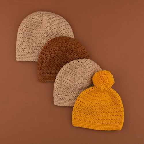 Crochet Pattern Yarn and Colors Oh Baby! Hat