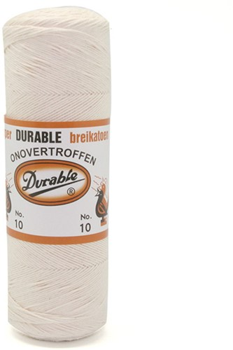 Durable Knitting Cotton No. 10 87 Eggshell