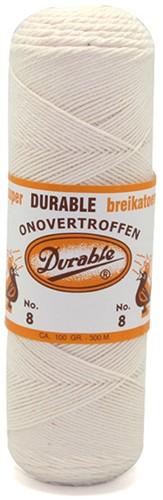 Durable Knitting Cotton No. 8 87 Eggshell