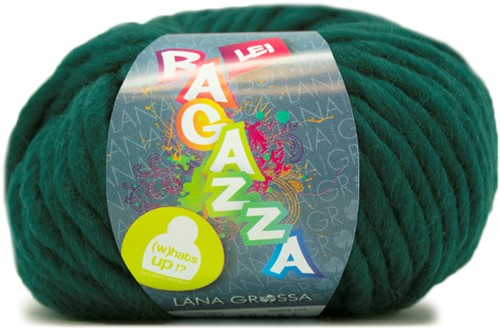 Lana Grossa Ragazza Lei Uni 87 Blue Green