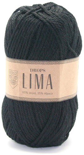 Drops Lima Uni Colour 8903 Black