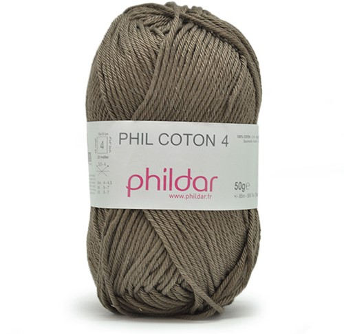 Phildar Phil Coton 4 89 Kaki